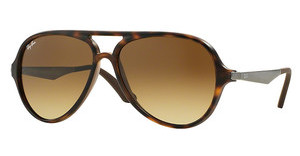 Ray-Ban RB4235 894/85 LIGHT BROWN GRAD DARK BROWNMATTE HAVANA
