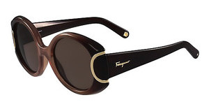 Salvatore Ferragamo SF811S SIGNATURE 212 BROWN GRADIENT