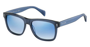 Tommy Hilfiger TH 1254/S 4JW/DK FLASH BLUE SKYTRNS BLUE (FLASH BLUE SKY)