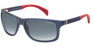 Tommy Hilfiger TH 1257/S 4NK/JJ GREY SFBLUE RED (GREY SF)