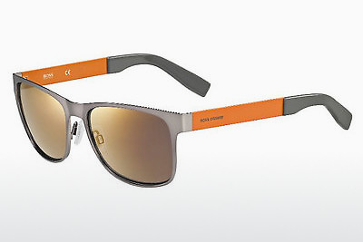solbrille Boss Orange BO 0197/S 7ZL/CT - Sølv, Ruthenium
