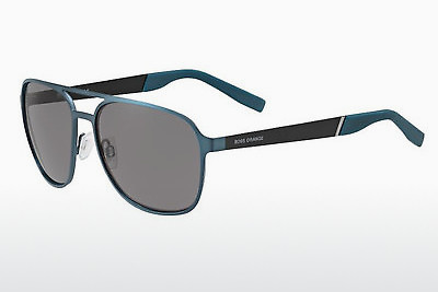 solbrille Boss Orange BO 0226/S LGF/Y1 - Blå, Sort