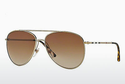 solbrille Burberry BE3072 114513 - Gull