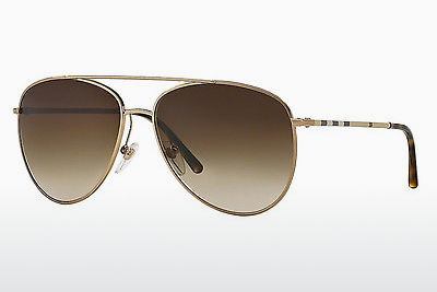 solbrille Burberry BE3072 118913 - Gull