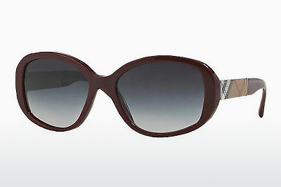solbrille Burberry BE4159 34038G - Rød, Bordeaux