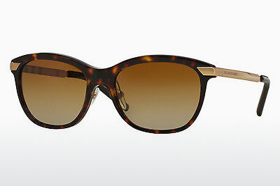 solbrille Burberry BE4169Q 3002T5 - Brun, Havanna