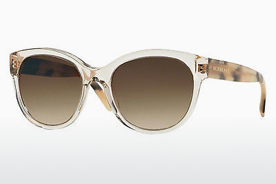 solbrille Burberry BE4187 350313 - Transparent, Grå