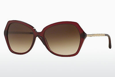 solbrille Burberry BE4193 301413 - Rød, Bordeaux