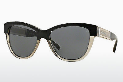 solbrille Burberry BE4206 355887 - Sort, Grå
