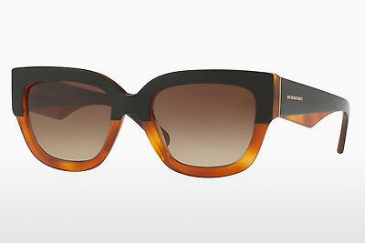solbrille Burberry BE4252 365013 - Sort, Oransje