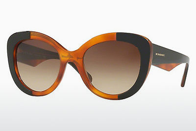 solbrille Burberry BE4253 365013 - Sort, Oransje