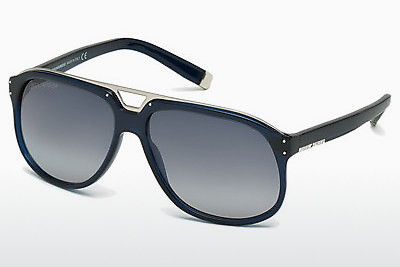 solbrille Dsquared DQ0005 90W - Blå, Shiny