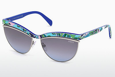 solbrille Emilio Pucci EP0010 89W - Blå, Turquoise