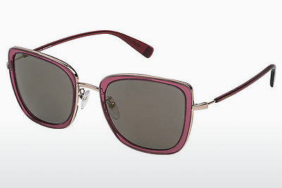 solbrille Escada SES909 96DX - Rød, Transparent