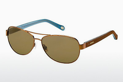 solbrille Fossil FOS 2004/P/S H0O/IG - Brun, Havanna