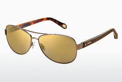solbrille Fossil FOS 2004/S NFX/VP - Brun, Gul, Havanna