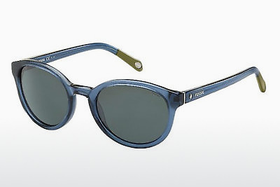 solbrille Fossil FOS 2022/P/S DC9/Y2 - Blå