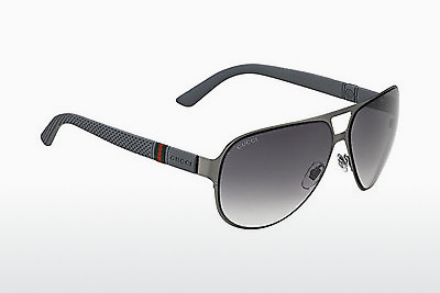 solbrille Gucci GG 2252/S 4UY/IC - Rutengrey