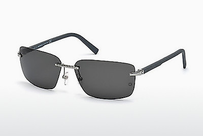 solbrille Mont Blanc MB465T 14A - Grå, Shiny, Bright