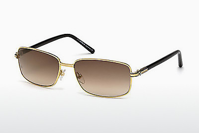 solbrille Mont Blanc MB503T 30G - Gul