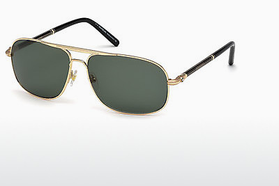 solbrille Mont Blanc MB513S 30N - Gul
