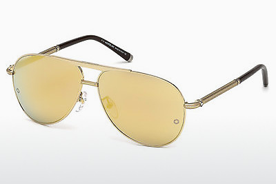 solbrille Mont Blanc MB517S 30C - Gul