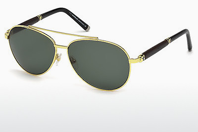 solbrille Mont Blanc MB518S 30N - Gul