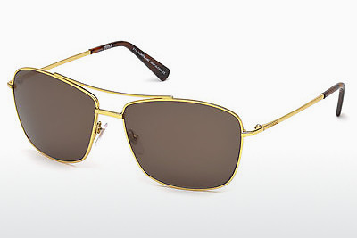 solbrille Mont Blanc MB548S 30E - Gul