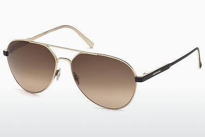 solbrille Mont Blanc MB644S 32F - Gull