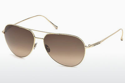 solbrille Mont Blanc MB657S 32F - Gull