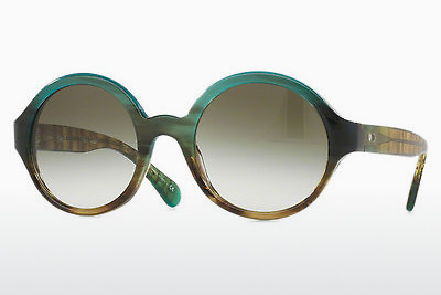 solbrille Paul Smith MARSETT (S) (PM8213S 13938E) - Grønn, Brun, Havanna