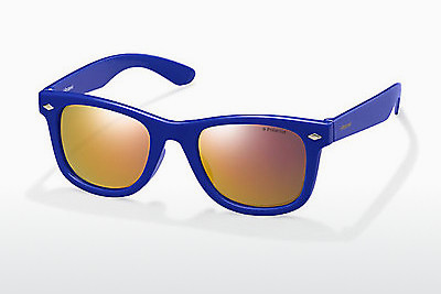 solbrille Polaroid Kids PLD 8006/S TV0/OZ - Blå