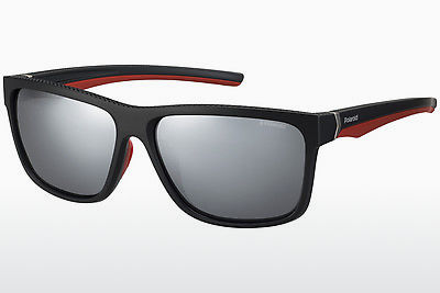 solbrille Polaroid Sports PLD 7014/S OIT/EX - Sort, Rød, Gull