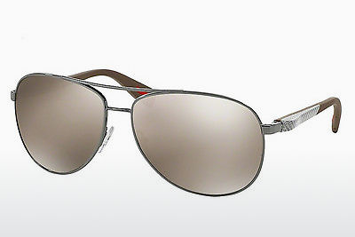 solbrille Prada Sport NETEX COLLECTION (PS 51OS 5AV1C0) - Grå, Rødt metall