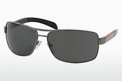 solbrille Prada Sport PS 54IS 5AV1A1 - Grå, Rødt metall