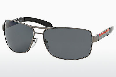 solbrille Prada Sport PS 54IS 5AV5Z1 - Grå, Rødt metall