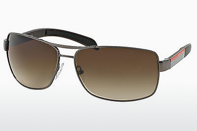 solbrille Prada Sport PS 54IS 5AV6S1 - Grå, Rødt metall