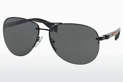 solbrille Prada Sport PS 56MS (65) (PS 56MS 1BO1A1) - Sort