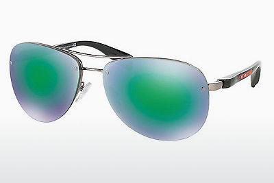 solbrille Prada Sport PS 56MS (65) (PS 56MS 5AS1M2) - Sølv, Pewter