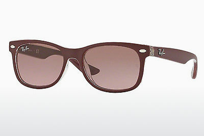 solbrille Ray-Ban Junior RJ9052S 702414 - Rød, Transparent