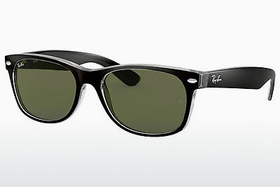 solbrille Ray-Ban NEW WAYFARER (RB2132 6052) - Sort, Transparent