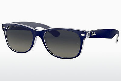 solbrille Ray-Ban NEW WAYFARER (RB2132 605371) - Blå, Transparent