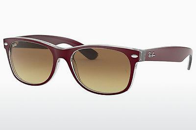 solbrille Ray-Ban NEW WAYFARER (RB2132 605485) - Purpur, Bordo