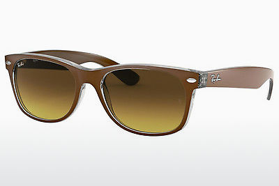 solbrille Ray-Ban NEW WAYFARER (RB2132 614585) - Brun, Transparent