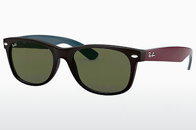 solbrille Ray-Ban NEW WAYFARER (RB2132 6182) - Sort