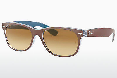 solbrille Ray-Ban NEW WAYFARER (RB2132 618985) - Brun, Chocolate