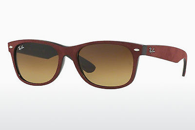 solbrille Ray-Ban NEW WAYFARER (RB2132 624085) - Sort, Rød
