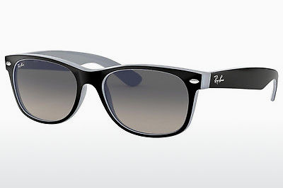 solbrille Ray-Ban NEW WAYFARER (RB2132 630971) - Sort, Blå