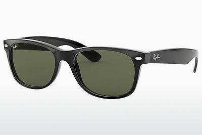 solbrille Ray-Ban NEW WAYFARER (RB2132 901) - Sort