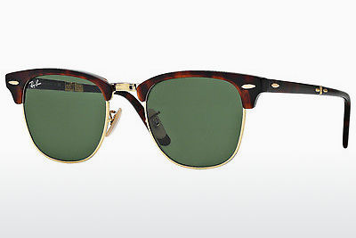 solbrille Ray-Ban CLUBMASTER FOLDING (RB2176 990) - Brun, Havanna